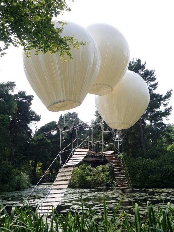 Мост на воздушных шарах.